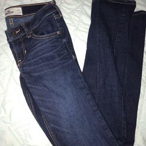 Hollister Skinny Jeans Size 0 Regular